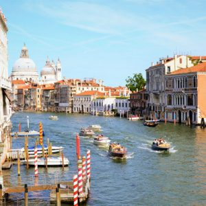 boats on grand canal