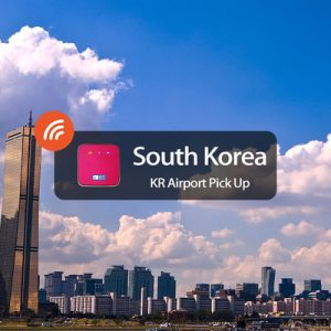 4g wifi south korea airport pick up