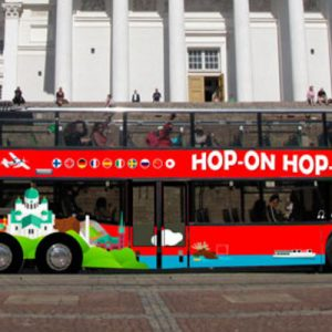 helsinki hop on hop off bus