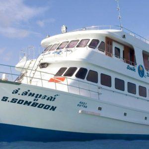white ship in thailand