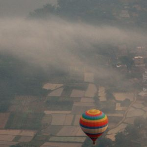 Yangshuo hot air balloon experience