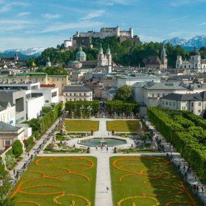 Salzburg's Mirabell Gardens
