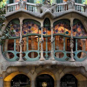 exterior of Casa Batlló