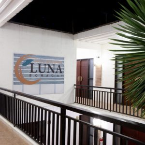 interior sign of luna spa in boracay