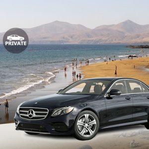 black car private transfer to lanzarote airport