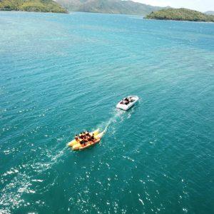 banana boat kayak experience coron palawan