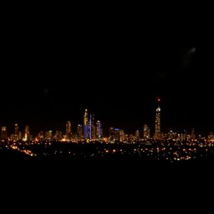 gold coast night scape