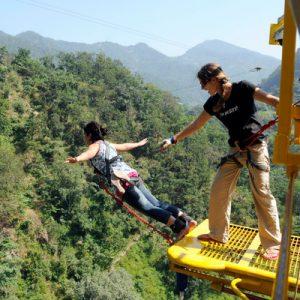 bungee jumping reshikesh