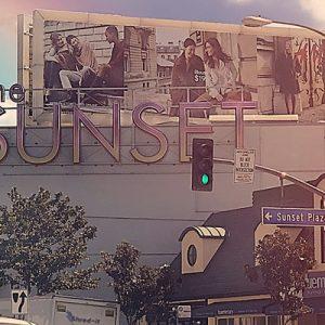 Sunset Plaza area