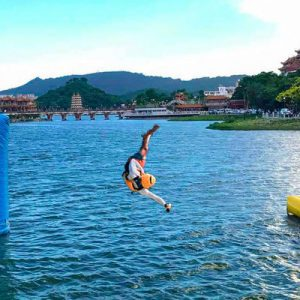 Kaohsiung Water Blob Jumping Stand Up Paddle