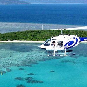 Moore reef scenic flight