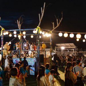 Reborn-Art Festival at night
