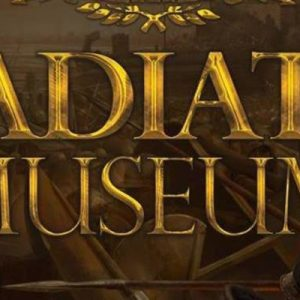 gladiator museum banner