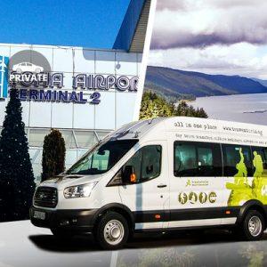 minivan for the sofia international airport transfer for velingrad