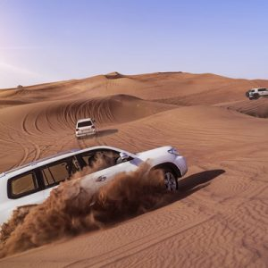 Evening Abu Dhabi Desert Safari