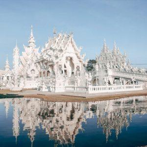 white temple chiang rai half day private tour