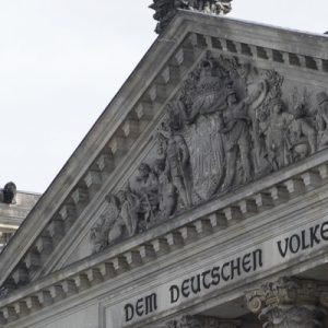 part of the Reichstag Building