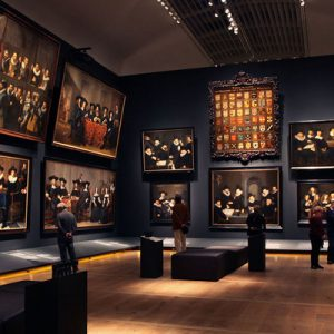 Portrait Gallery of the Golden Age paintings