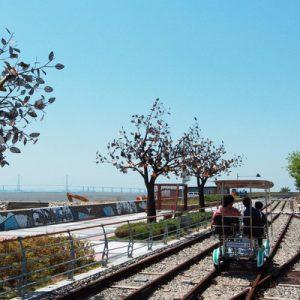 incheon seaside rail bike