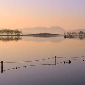 hangzhou west lake whole day tour, west lake tour in hangzhou, hangzhou west lake cruise, three pools mirroring the moon