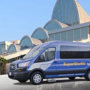 super shuttle van