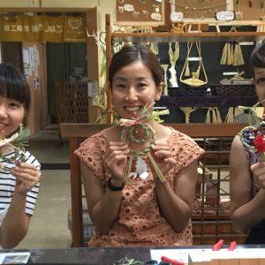 ladies making sacred rope