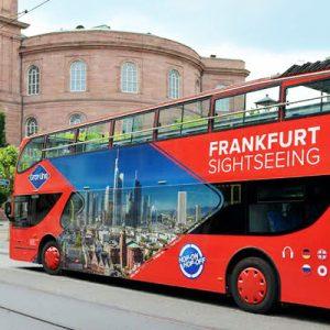 frankfurt skyline hop-on hop-off tour bus