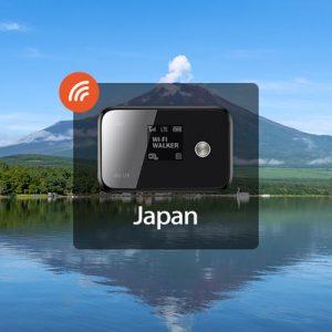 4g wifi japan