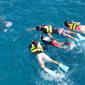 Introductory Snorkeling Course and Fish Eye Marine Park Observatory Viewing in Piti