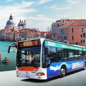 bus banner photo with venice backdrop