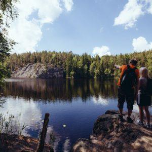 nuuksio nature tour finland