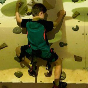 Augmented Reality Bouldering and Fun Climbing Walls
