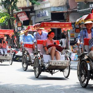 cyclo tour in vietnam