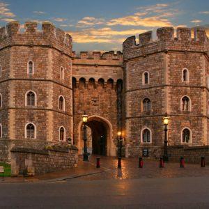 windsor castle exterior and gate