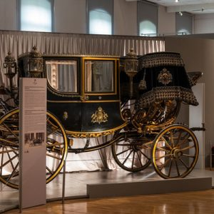 carriages in Imperial Carriage Museum