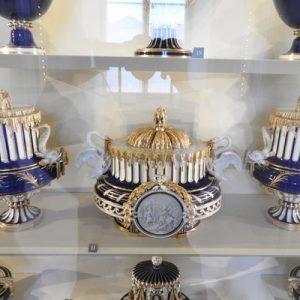 crowns on display