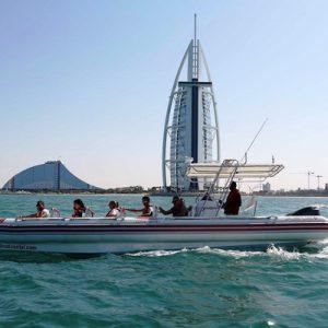 boat ride at dubai marina
