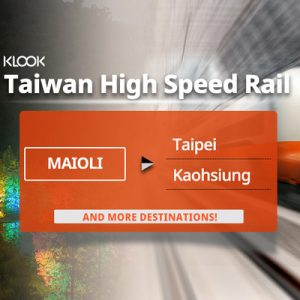 taiwan high speed rail ticket from miaoli