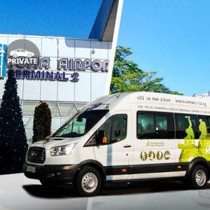 minivan for the sofia international airport transfer for plovdiv