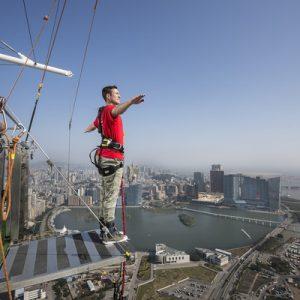 Macau Tower Bungee Jump