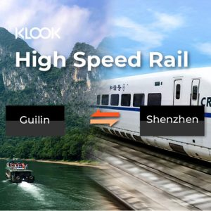 china high-speed railway ticket from guilin