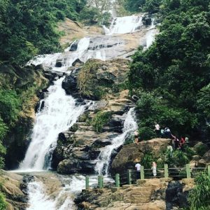 ravana falls in ella sri lanka
