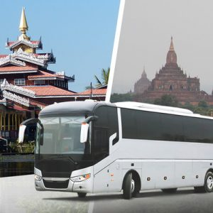 VIP Bus Ticket (One Way) between Inle Lake and Bagan