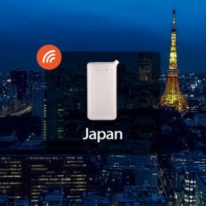 4g portable wifi in japan