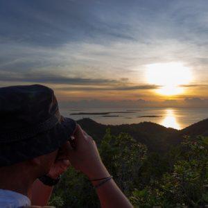 mount magarwak sunrise