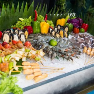 international bbq buffet dinner a-one star hotel pattaya