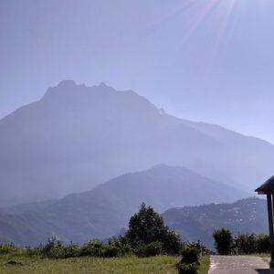 mountain in sabah