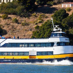 ferry beside Angel Island