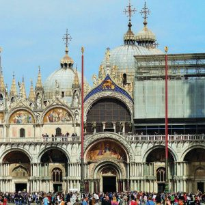 st mark's basilica view