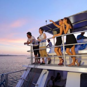 big sunset dinner cruise guam